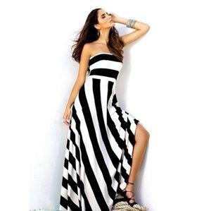 Nwt Elan maxi strapless dress